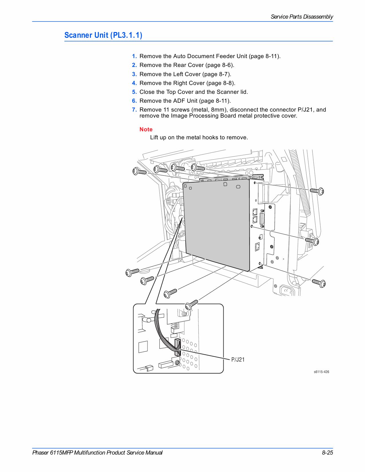 xerox phaser 6115